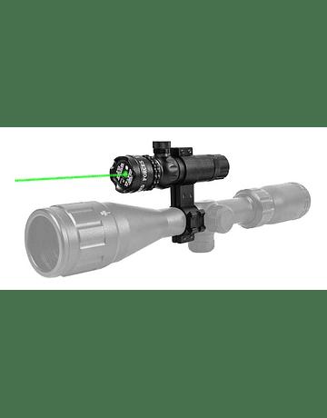 Mira laser con accesorios Modelo: Luz verde