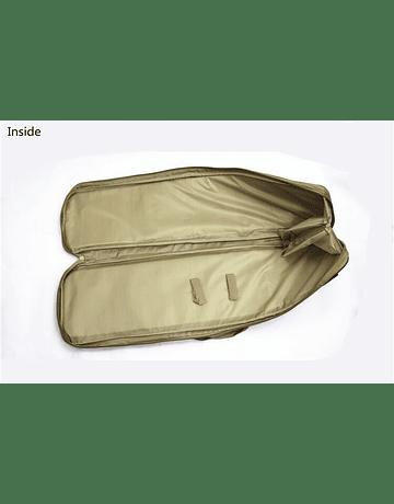 Funda y mochila con bolsillos 85x29cm Verde