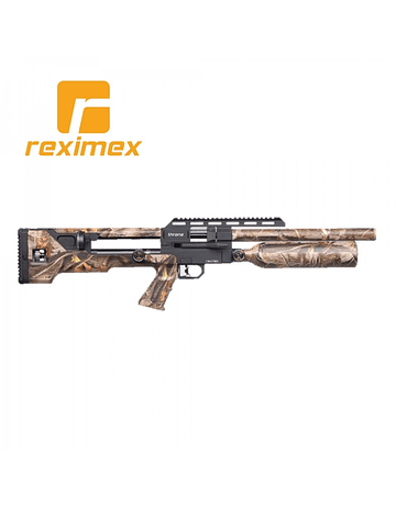 RIFLE REXIMEX THRONE GEN1 CAMO 5.5 MM con Maleta rígida