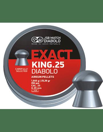 POSTON JSB EXACT KING 6.35 25.39 GR 350 UNIDADES