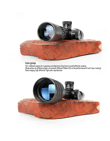 Mira telescopica T-EAGLE EO 4-16X44 AOEG HK