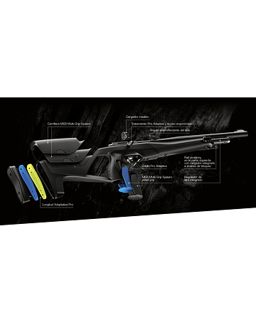 Rifle PCP Beretta Stoeger XM1 S4 Supressor Diseñado en Italia