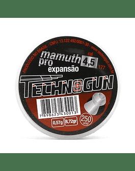 Postón Technogun  Mamuth Pro 4.5 mm 250 un
