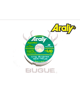 Nylon Araty Superflex 0.40 mm 100 m