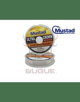 Nylon MUSTAD 0.20 mm 100 m BLANCO