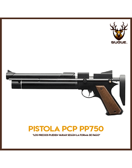 PISTOLA PCP PP750 Últimas !!