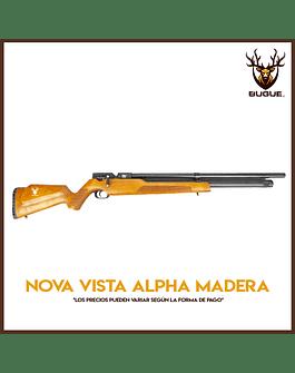 RIFLE PCP NOVA VISTA ALPHA MADERA 6.35 mm