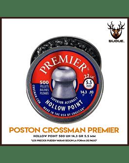POSTON CROSSMAN PREMIER HOLLOW POINT 500 UN 14,3 GR 5.5 MM