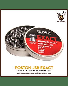 POSTON JSB EXACT JUMBO 5.5 MM 15.89 GR 250 UN