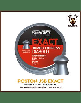 POSTON JSB EXACT EXPRESS 5.5 MM 14.35 GR 500 UN