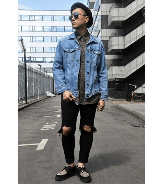 Vintage Unisex Denim Cotton Jacket