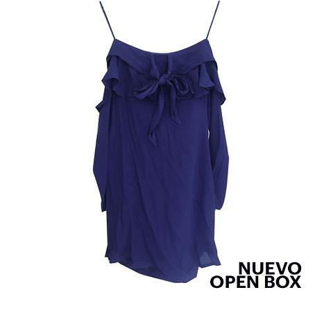 Vestido azul marino 19 cooper talla M