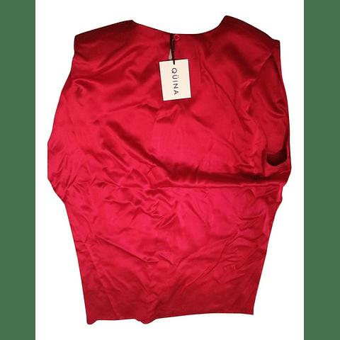 Vestido Rojo Diosa Talla Única Qüina