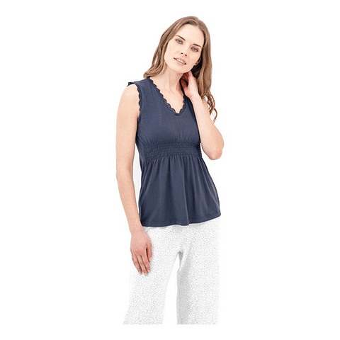 Pijama Cargo Azul M Barbizon