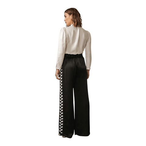 Pantalón Charcoal Negro Talla 40 Singolare