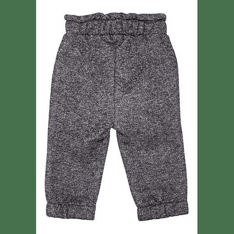 Pantalón Buzo Niña Print Gris Oscuro 24m Pillín