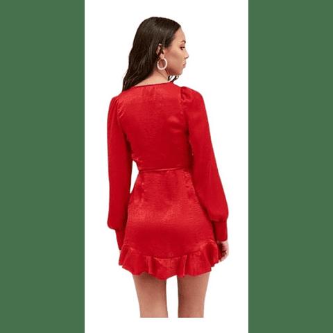 Vestido Minaj Rojo 40 47 Street