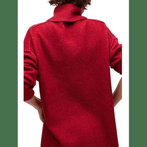 Sweater Oversize Picasso Rojo M Mango
