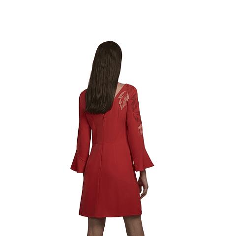 Vestido Lorne Rojo S Uma