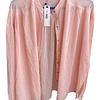 Blusa Mujer Cuello Mao Rosa Claro M Inédita