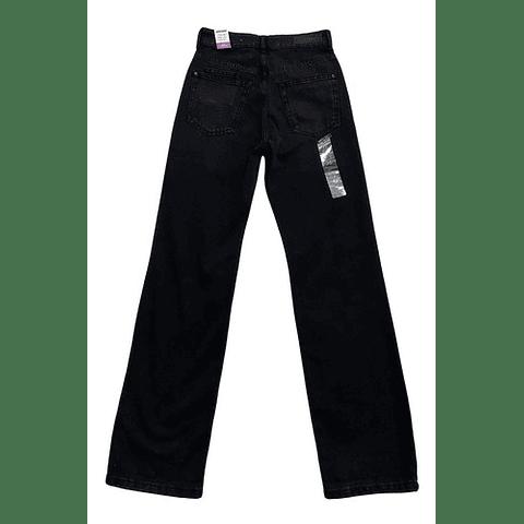 Jeans Mujer Wide Leg Negro 36 Americanino