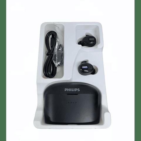 Audífonos True Wireless con Powerbank SHB2515 10+100 Hrs Negro PHILIPS