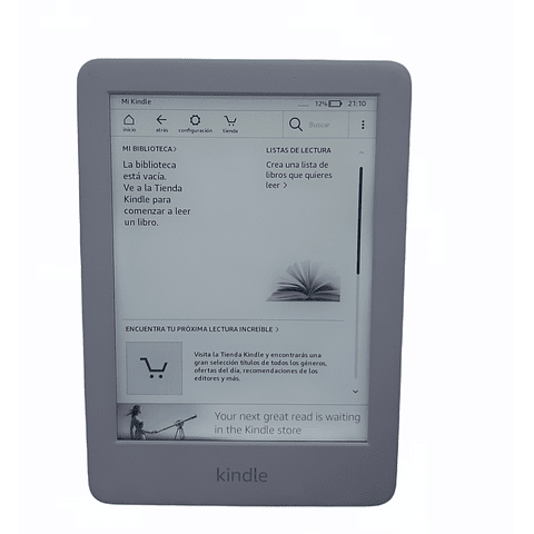 Kindle E-reader, White, 8GB, 2020 AMAZON