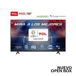 """LED 50"""" 4K Ultra HD Smart TV TCL TCL-50P615"""