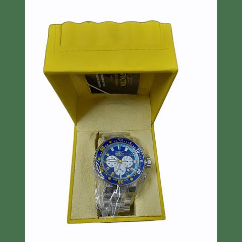 Reloj de Hombre Pro Diver 52mm color Acero INVICTA