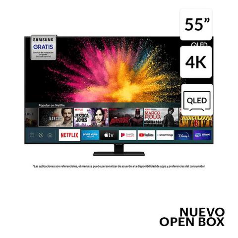 """QLED 55"""" QN55Q80TAGXZS 4K Ultra HD Smart TV SAMSUNG"""