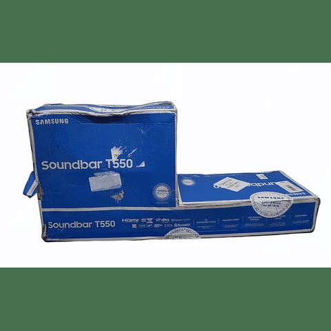 Soundbar HW-T550 de 320W y 2.1 CH SAMSUNG
