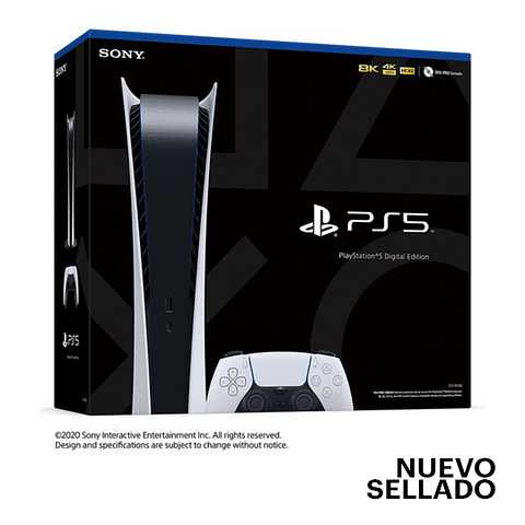 Consola PS5 Edición Digital PLAYSTATION