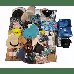 Textil y Accesorios Varios <br> 63 (Unidades) Disponible para Remate