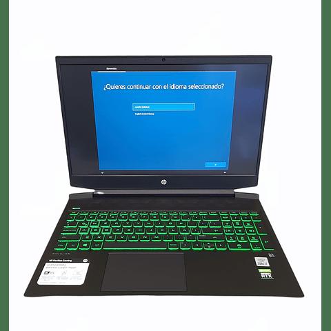 "PAVILION GAMING 16-A0004LA / INTEL® CORE™ I7 / 12GB RAM / 512GB SSD / NVIDIA GEFORCE RTX 2060 / 16.1"" / WINDOWS 10 HP"