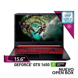 "NOTEBOOK NITRO 5 AN515 / INTEL® CORE™ I5 / 12GB RAM / 1TB / NVIDIA GEFORCE GTX 1650 / 15.6"" ACER"
