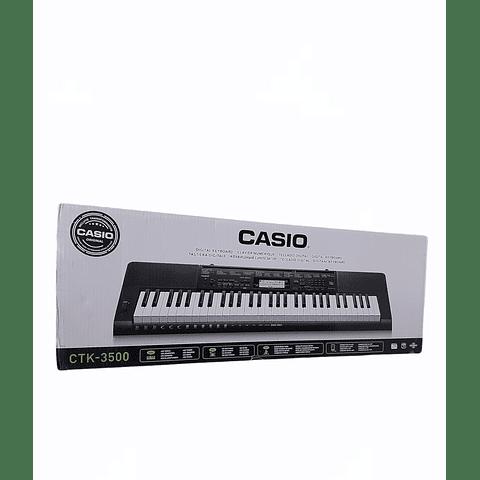 Teclado CTK-3500 con fuente de poder CASIO