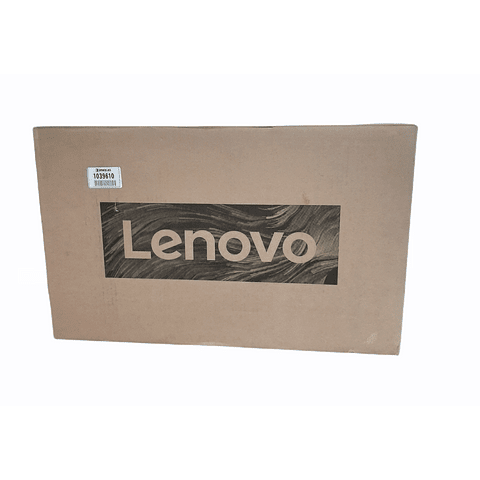 """Notebook Intel Core i3 8GB RAM 256GB SSD 15.6"""" (Teclado y sistema en Inglés-configurable al español) LENOVO"""