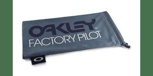 Estuche de microfibra Oakley Factory Pilot Grey/Black