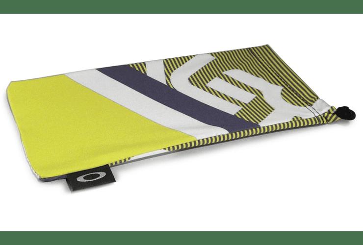 Estuche de microfibra Oakley Factory Pilot Lime