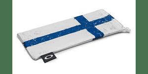 Estuche de microfibra Oakley Finland Flag