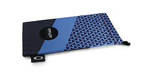 Estuche de microfibra Oakley FP Printed French Blue/Black