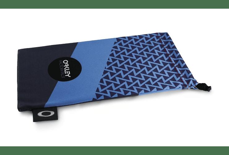 Estuche de microfibra Oakley FP Printed French Blue/Black