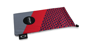 Estuche de microfibra Oakley FP Printed French Red/Grey