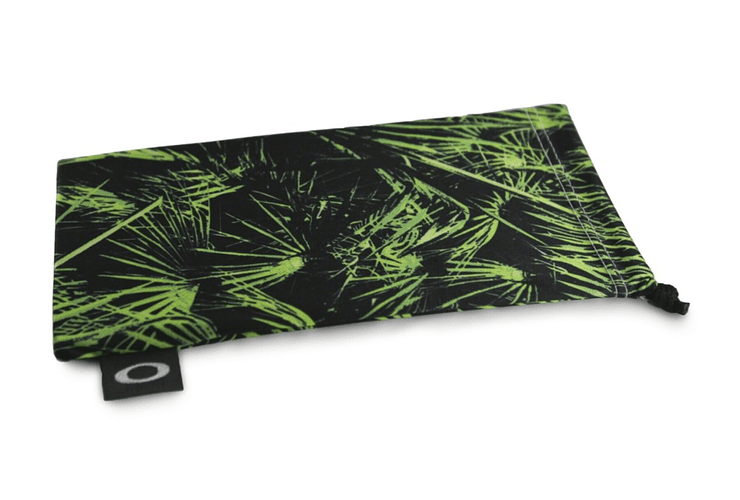 Estuche de microfibra Oakley Green Palm