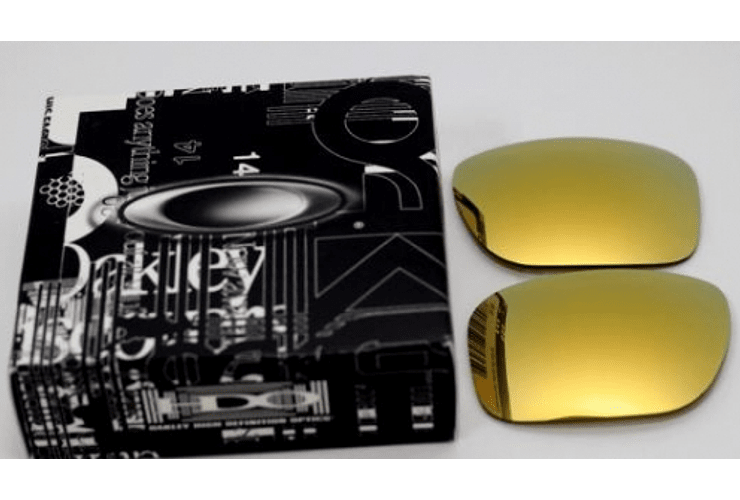 Lente de repuesto/reemplazo Oakley Holbrook color 24k GOLD cod. 43-350 - Image 4