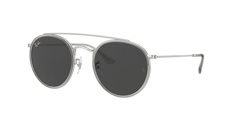 Ray-Ban Round Double Bridge RB3647N RB3647N 9211B1 51 - Image 1