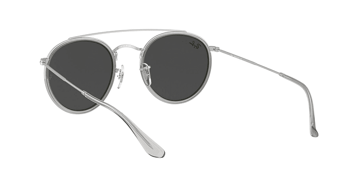 Ray-Ban Round Double Bridge RB3647N RB3647N 9211B1 51 - Image 5
