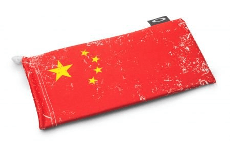 Bolsa de micro Fibra Oakley China Flag