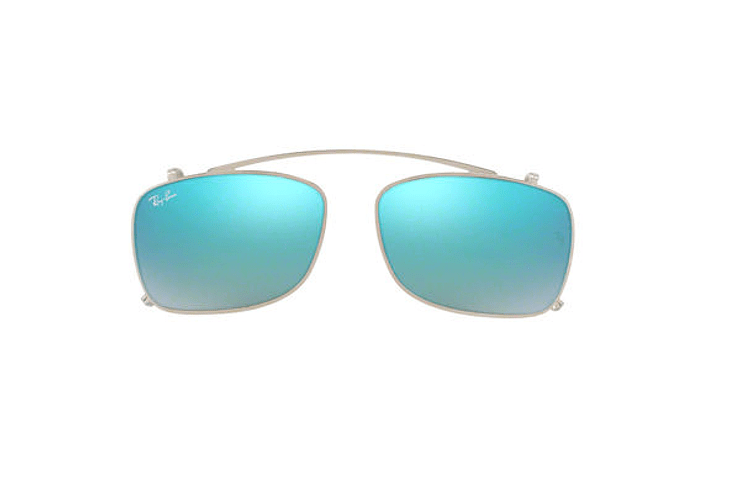 Clip on RX228 Azul Flash degradé 53mm