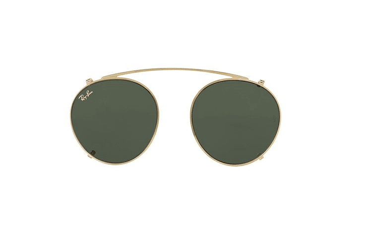 Clip On RX2447C Verde Oscuro 47mm